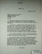 Secret Letter from Armin H. Meyer to Theodore L. Eliot, Jr. re: Mehdi Samii, January 26, 1968