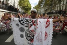 Brazilian Procession in Paris (photo)
