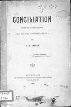 Conciliation Suite et Complément de la Brochure