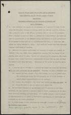 Draft Memo from Ministry of Housing & Local Government: Rent Tribunals and Related Powers of Local Authorities, July 31, 1959