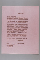 Letter from Anna Lord Strauss to Mrs. Kulsum Sayani, January 9, 1968