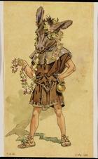 Bottom, costume design for