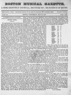 Boston Musical Gazette, Vol. 1, no. 3, May 30, 1838