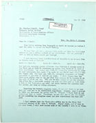 Letter from John T. Lassiter to Charles O'Neill, May 13, 1943