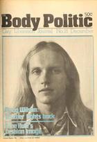 The Body Politic no. 21, November/December 1975