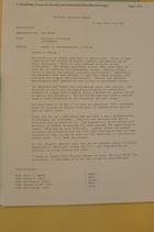 Memo from Donald K. Steinberg re: Update on Rwanda/Burundi (1:30 pm), April 7, 1994