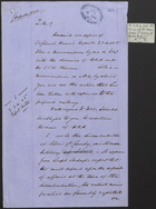 Memo from J. L. A. Simmons, January 13, 1877