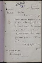 Correspondence re: Workers' Conditions at Panama Canal, March 2-April 6, 1889