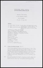 IAI, Aug. 1973 - Minutes of the meeting of the Executive Council, London, 26-27 June 1973