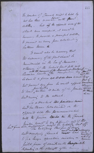 Memo and Letter from J. L. A. Simmons to Mr. Hardy, July 28, 1877