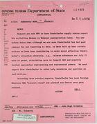 Telegram from Dept. of State  re: Ambassador Stadelhofer's Activities in Havana, August 5, 1963