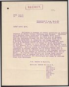 Letter from C. G. S. to D. M. I. April 30, 1918