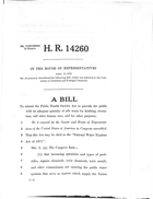 92d Congress 2d Session A Bill To Amend the Public Health Service Act to Provide the Public with an Adequate Quantity of Safe Water for Drinking, Recreation, and Other Human Uses, and for Other Purposes