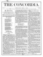 The Concordia, Vol. 1, no. 5, May, 1866