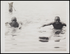 'Two scouts splashing off to announce our arrival', possibly II 94?