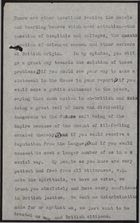 Fragment of Letter from Harold A. Moody to Philip Cunliffe-Lister re: Treatment of Africans in England, 1932