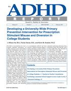 ADHD Report, Volume 23, Number 01, February, 2015