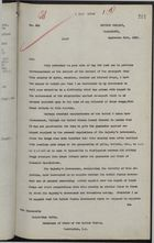 Memo from Sir Auckland Geddes to Bainbridge Colby re: Export of Narcotics Out of Great Britain, September 23, 1920