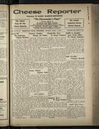 Cheese Reporter, Vol. 55, no. 30, Saturday, April 6, 1931