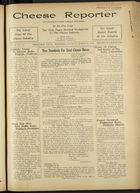 Cheese Reporter, Vol. 60, no. 30, Saturday, March 28, 1936
