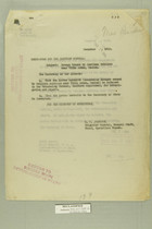 Memos from E. D. Anderson and Henry Jervey re: Damage Caused by American Soldiers near Villa Acuna, Mexico, December 7, 1918