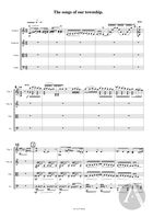 The Songs Of Our Township (A Jewish Fantasy), arranged for String Quartet