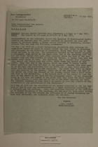 Memo from Dr. Riedl re: Serious Border Incident Near Hohenberg, May 12, 1951