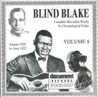 Blind Blake Vol. 4 (1929-1932)