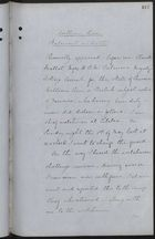 Statement on Oath of William Rose, Recorded by Claude Mallet, May 7, 1885