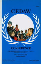 CEDAW Conference on the United Nations Convention on the Elimination of All Forms of Discrimination Against Women, 25th-31st October, 1991