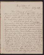 Diary of Elizabeth Jane Leggo, 1886-1913
