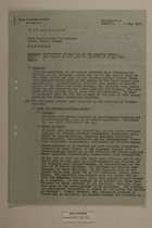 Memo from Schaumberger re: Ocurrence on May 1st with Attached List of Placard Inscriptions, May 4, 1951