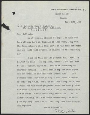 Letter from f b bourdillon to s g tallents june 29 1925 letter from f b bourdillon to s g tallents june 29 1925 altavistaventures Gallery