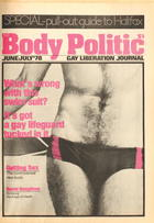 The Body Politic no. 44, June/July 1978