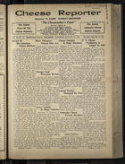 Cheese Reporter, Vol. 55, no. 18, Saturday, January 10, 1931