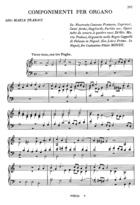 Componimenti per Organo