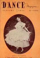 Dance Magazine, Vol. 25, no. 1, January, 1951
