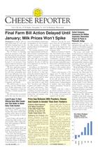Cheese Reporter, Vol. 138, No. 25, Friday, December 13, 2013