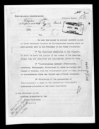 Letter from A. Aharonian re: Memorandum relative to Transcaucasian Armenia