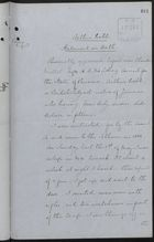 Copy of Arthur Webb's Statement on Oath, Recorded by Claude Mallet, May, 1885