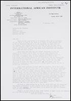 Letter from John Middleton to MG, 18 Jan. 1974