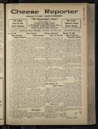 Cheese Reporter, Vol. 55, no. 17, Saturday, January 3, 1931
