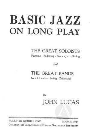 Basic Jazz on Long Play