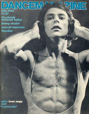 Dance Magazine, Vol. 49, no. 7, July, 1975