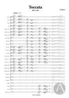 Toccata and Fugue, arranged for Band, BWV 565, D Minor