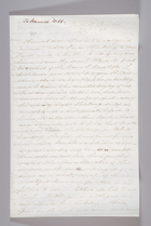 Letter from Sarah Pugh to Hannah Webb, August 27, 1852