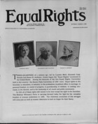 Equal Rights, Vol. 01, no. 03, March 03, 1923