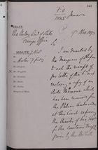 Draft Memo re: Italian Warship, 'Etna,' November 09, 1893
