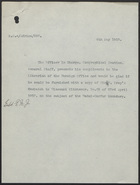 Letter from Viscount Kitchener to Sir Edward Grey, May 5, 1913