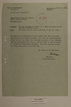 Memo from Georg Mulzer re: Illegal Crossing of Border by 2 Czech Soldiers in the Area of BP Stelle Rehau, October 19, 1950